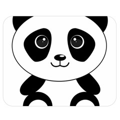 Bear Panda Bear Panda Animals Double Sided Flano Blanket (medium)
