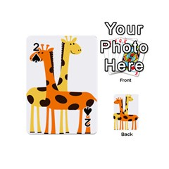 Giraffe Africa Safari Wildlife Playing Cards 54 (mini)