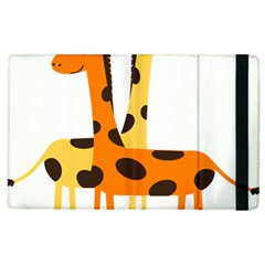 Giraffe Africa Safari Wildlife Apple Ipad 2 Flip Case