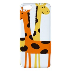 Giraffe Africa Safari Wildlife Iphone 5s/ Se Premium Hardshell Case