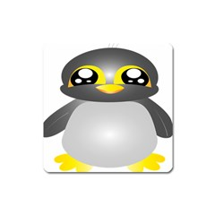 Cute Penguin Animal Square Magnet