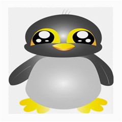 Cute Penguin Animal Medium Glasses Cloth