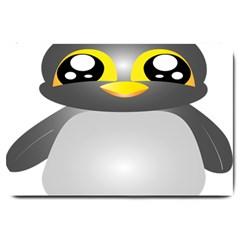 Cute Penguin Animal Large Doormat