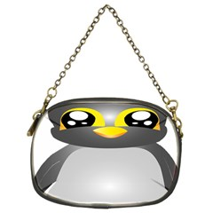 Cute Penguin Animal Chain Purses (two Sides)