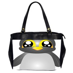 Cute Penguin Animal Office Handbags (2 Sides)