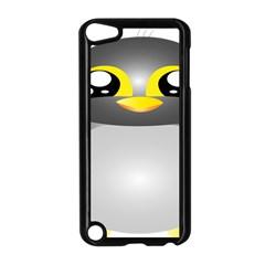 Cute Penguin Animal Apple Ipod Touch 5 Case (black)