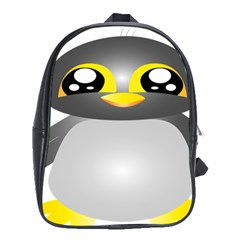 Cute Penguin Animal School Bag (xl)