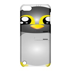 Cute Penguin Animal Apple Ipod Touch 5 Hardshell Case With Stand