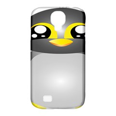 Cute Penguin Animal Samsung Galaxy S4 Classic Hardshell Case (pc+silicone)