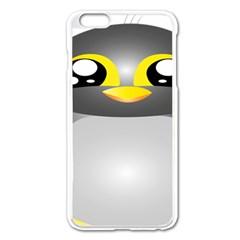 Cute Penguin Animal Apple Iphone 6 Plus/6s Plus Enamel White Case