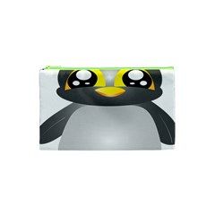 Cute Penguin Animal Cosmetic Bag (xs)