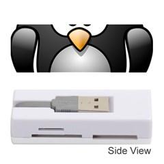 Penguin Birds Aquatic Flightless Memory Card Reader (stick)