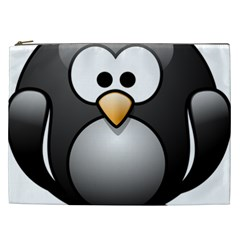 Penguin Birds Aquatic Flightless Cosmetic Bag (xxl)