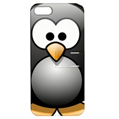 Penguin Birds Aquatic Flightless Apple Iphone 5 Hardshell Case With Stand