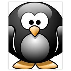 Penguin Birds Aquatic Flightless Drawstring Bag (small)