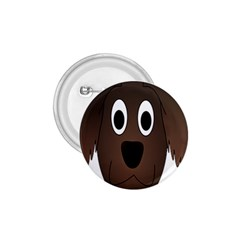 Dog Pup Animal Canine Brown Pet 1 75  Buttons