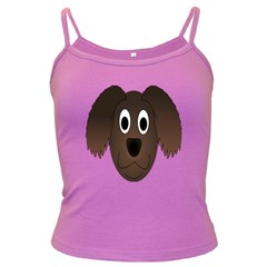 Dog Pup Animal Canine Brown Pet Dark Spaghetti Tank
