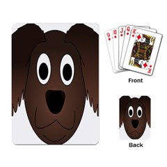 Dog Pup Animal Canine Brown Pet Playing Card