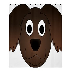 Dog Pup Animal Canine Brown Pet Shower Curtain 60  X 72  (medium)