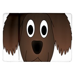 Dog Pup Animal Canine Brown Pet Samsung Galaxy Tab 10 1  P7500 Flip Case