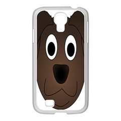 Dog Pup Animal Canine Brown Pet Samsung Galaxy S4 I9500/ I9505 Case (white)