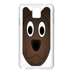 Dog Pup Animal Canine Brown Pet Samsung Galaxy Note 3 N9005 Case (white)