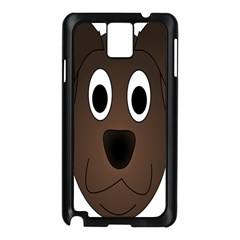 Dog Pup Animal Canine Brown Pet Samsung Galaxy Note 3 N9005 Case (black)