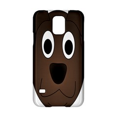 Dog Pup Animal Canine Brown Pet Samsung Galaxy S5 Hardshell Case