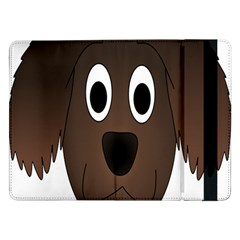 Dog Pup Animal Canine Brown Pet Samsung Galaxy Tab Pro 12 2  Flip Case