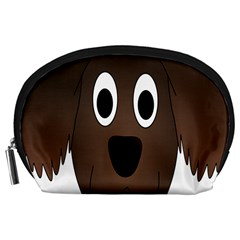 Dog Pup Animal Canine Brown Pet Accessory Pouches (large)