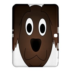 Dog Pup Animal Canine Brown Pet Samsung Galaxy Tab 4 (10 1 ) Hardshell Case