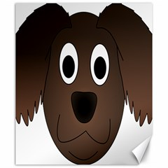 Dog Pup Animal Canine Brown Pet Canvas 20  X 24