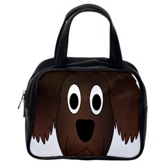 Dog Pup Animal Canine Brown Pet Classic Handbags (one Side)