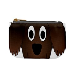 Dog Pup Animal Canine Brown Pet Mini Coin Purses