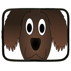 Dog Pup Animal Canine Brown Pet Netbook Case (xl)