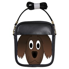 Dog Pup Animal Canine Brown Pet Girls Sling Bags