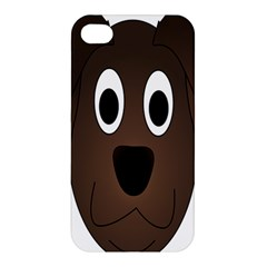 Dog Pup Animal Canine Brown Pet Apple Iphone 4/4s Hardshell Case