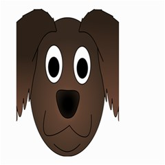 Dog Pup Animal Canine Brown Pet Small Garden Flag (two Sides)