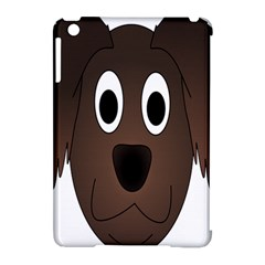 Dog Pup Animal Canine Brown Pet Apple Ipad Mini Hardshell Case (compatible With Smart Cover)