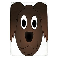 Dog Pup Animal Canine Brown Pet Flap Covers (l)