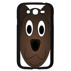 Dog Pup Animal Canine Brown Pet Samsung Galaxy Grand Duos I9082 Case (black)