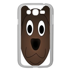Dog Pup Animal Canine Brown Pet Samsung Galaxy Grand Duos I9082 Case (white)