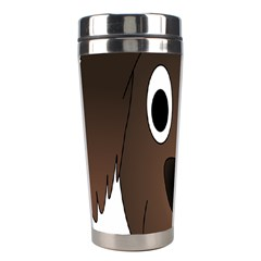 Dog Pup Animal Canine Brown Pet Stainless Steel Travel Tumblers