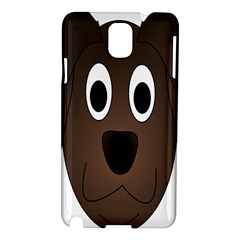 Dog Pup Animal Canine Brown Pet Samsung Galaxy Note 3 N9005 Hardshell Case