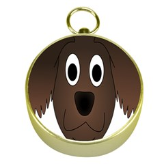 Dog Pup Animal Canine Brown Pet Gold Compasses
