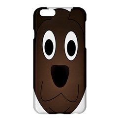Dog Pup Animal Canine Brown Pet Apple Iphone 6 Plus/6s Plus Hardshell Case