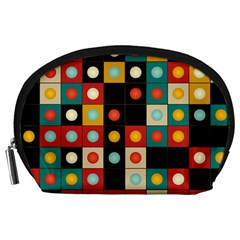 Colors On Black Accessory Pouches (large)