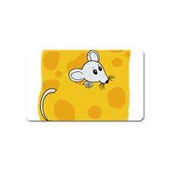 Rat Mouse Cheese Animal Mammal Magnet (name Card)