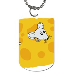 Rat Mouse Cheese Animal Mammal Dog Tag (one Side)