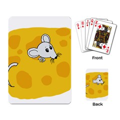 Rat Mouse Cheese Animal Mammal Playing Card
